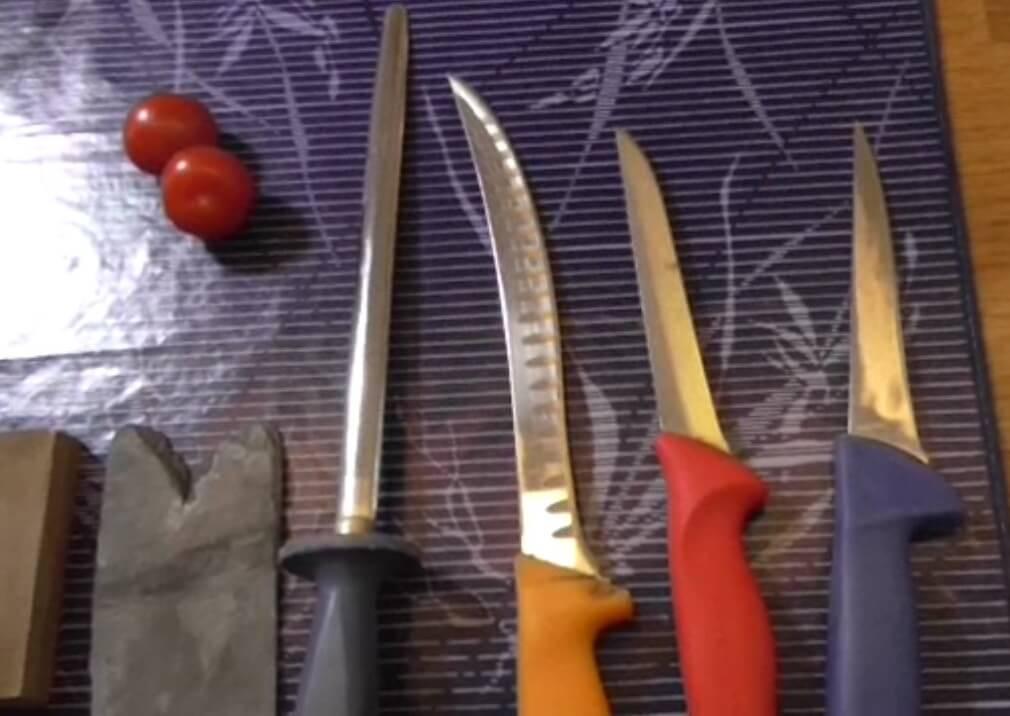 Küchenmesser schärfen