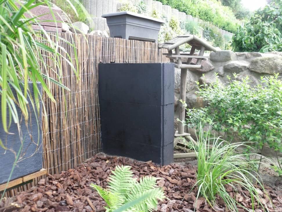 betonmauer versch nern einfach gut g nstig und clever. Black Bedroom Furniture Sets. Home Design Ideas