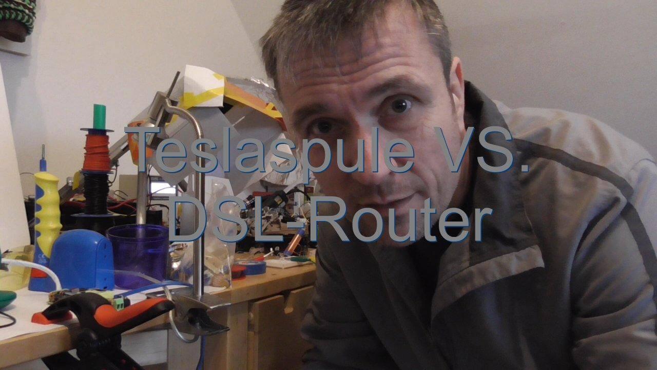 teslaspule und dsl router st rung. Black Bedroom Furniture Sets. Home Design Ideas